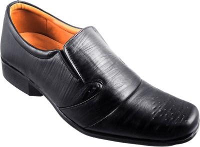 Action Fashion Line Slip On Shoes For Men(Black)  available at flipkart for Rs.499