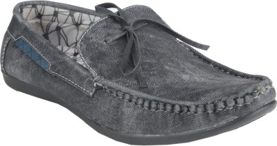 Prolific Bruck Boat Shoes For Men(Black)