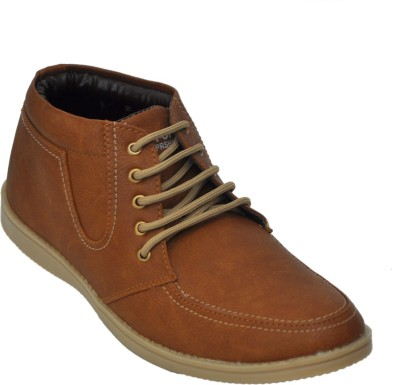 Adjoin Steps Lace Up Casual Shoe(Brown)