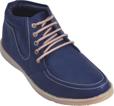 Adjoin Steps Lace Up Casual Shoe(Blue)