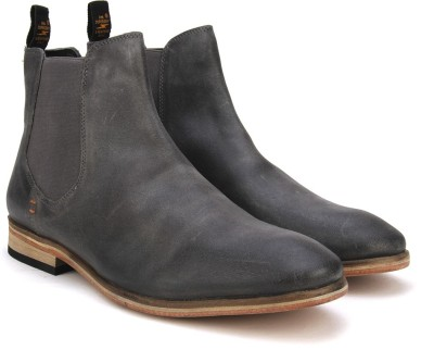 Superdry METEOR CHELSEA BOOT Boots(Grey) at flipkart