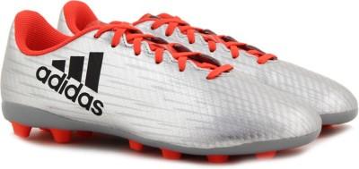 ADIDAS X 16.4 FXG J FOOTBALL/SOCCER For Men Silver ADIDAS Sports Shoes