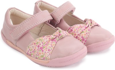 Clarks Softly Nia Fst Baby Pink Lea Casual Shoes