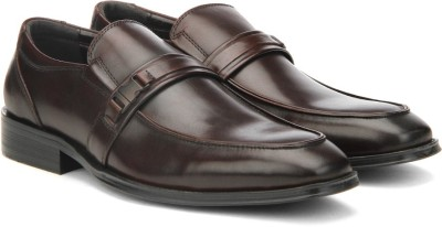 Kenneth Cole Slip On(Brown) at flipkart