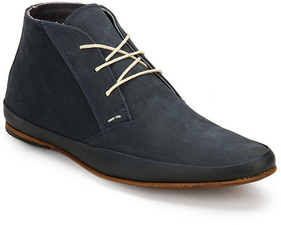 Arden Bushey Derby Boots For Men(Blue)