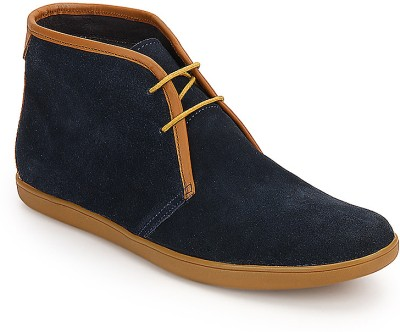 Arden Devon Chukka Boots For Men(Blue)
