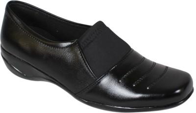 Footshez Bellies shoe For Women(Black)
