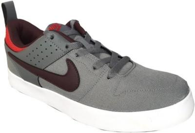 Nike LITEFORCE III Sneakers For Men(Grey, Red, White) 1