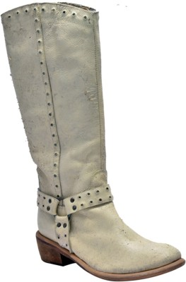 Kuja Paris DS Boots For Women(White)