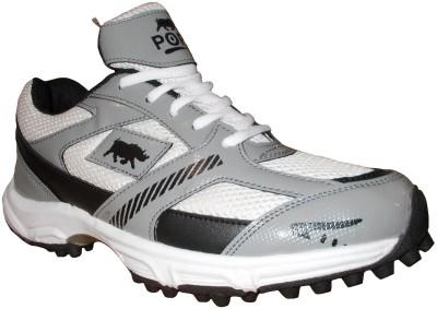 Port Player Cricket Shoes For Men(Grey)