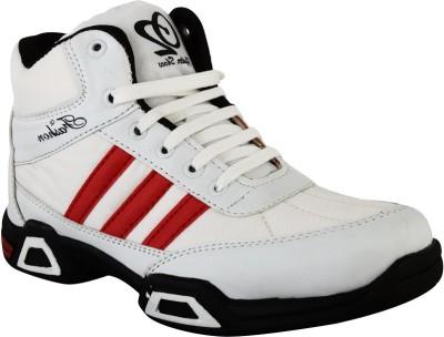 Hillsvog White Cricket men shoes-5001 Casuals For Men(White)