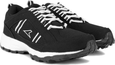 Power GRIP Running Shoes(Black, White) at flipkart