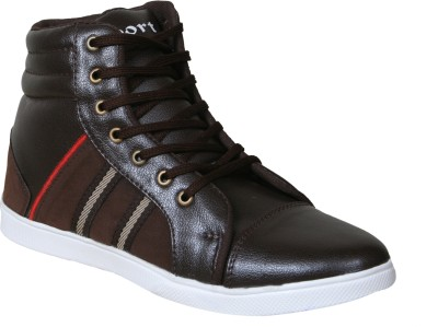 Sukun HL_2014_BRNRD Casual Shoes For Men(Brown)  available at flipkart for Rs.999