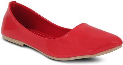 Get Glamr Designer Bellies(Red) at flipkart