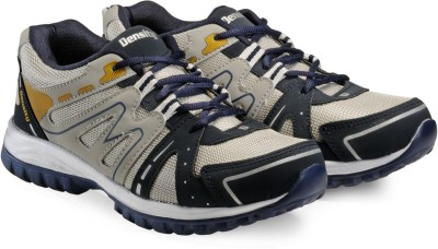 Corpus Density Running Shoes For Men(Grey, Navy)  available at flipkart for Rs.489