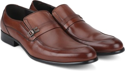 Kenneth Cole Slip On(Tan) at flipkart