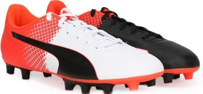 Puma evoSPEED 5.5 FG Football Shoes For Men Red, White, Black Puma Sports Shoes