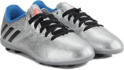 ADIDAS MESSI 16.4 FXG J Men Football Shoes For Men(Silver) at flipkart