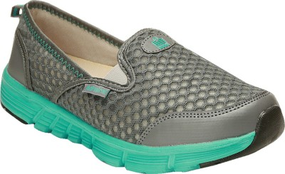 Admiral Easy Go Slip On Sneakers For Women(Grey) at flipkart