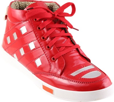 Go India Store Canvas Shoes For Men(Red)