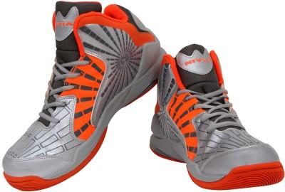 Nivia Phantom Basketball Shoes For Men(Orange, Grey)  available at flipkart for Rs.1339