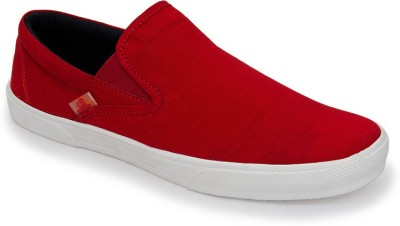 Cubebro Boat Shoes(Red)