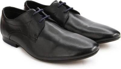 Clarks Whelan Walk Men Genuine Leather Lace Up shoes(Black) at flipkart