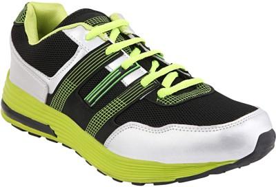 Yepme Walking Shoes For Men(Black, Green)  available at flipkart for Rs.899