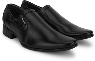 Provogue Slip on Shoe(Black) at flipkart