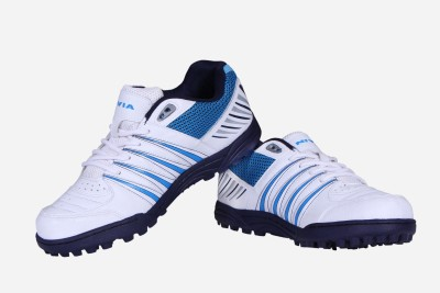 Nivia Caribbean Cricket Shoes For Men(White)  available at flipkart for Rs.959