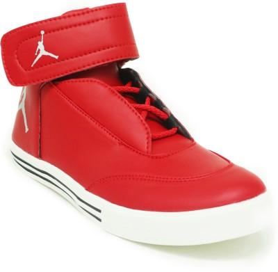 Shoefad Sneakers For Men(Red)