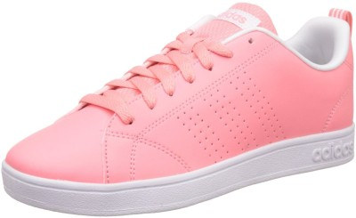 ADIDAS NEO ADVANTAGE CLEAN VS W Sneakers For Women(White, Pink) at flipkart