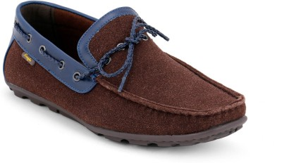 Froskie Boat Shoes For Men(Brown)