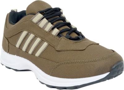 Corpus Density Running Shoes For Men(Brown)  available at flipkart for Rs.299