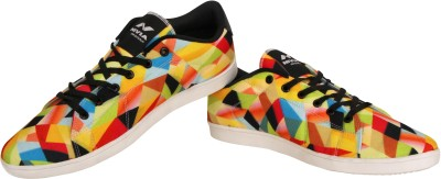 Nivia Finch Canvas Shoes(Yellow, Black) at flipkart