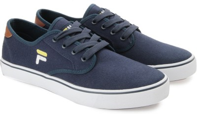 Fila NACIO Canvas Shoes For Men(Blue
