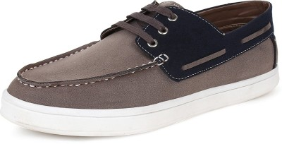 Tufli Corporate Casuals For Men(Navy, Grey)