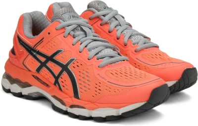 Asics Gel-Kayano 22 Women Running Shoes For Women(Pink, Black, Grey)  available at flipkart for Rs.8332