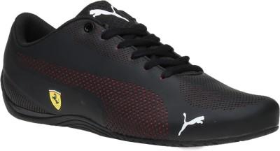 0e309deb3f6a75 Buy Puma SF Ferrari Drift Cat 5 Ultra Casuals For Men(Black) on Flipkart