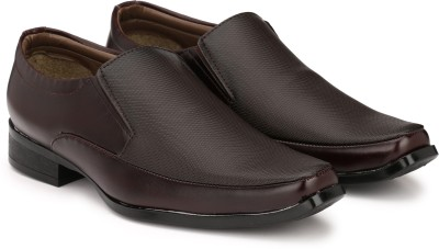 Sir Corbett Slip On For Men(Brown) at flipkart
