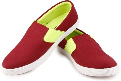 Andrew Scott M-1Cherry Loafers For Men(Red) at flipkart