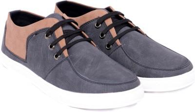 Pantofi Canvas Shoes For Men(Grey, Tan)