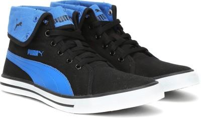 8b4787e8e1d9 65% OFF on Puma Carme Mid IDP Mid Ankle Sneakers For Men(Black
