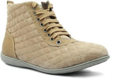 Shuberry Sneakers(Beige) at flipkart