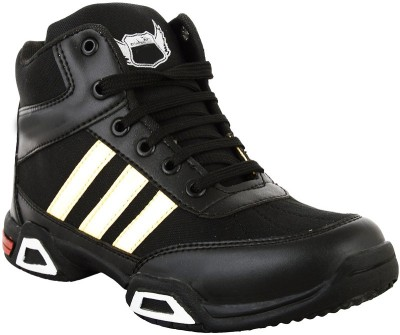 Hillsvog Basketball Shoes For Men(Black)