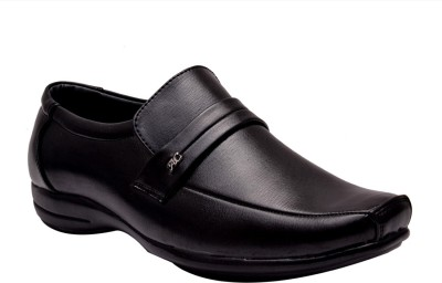 Prolific Ace Monk Strap Shoes For Men(Black)