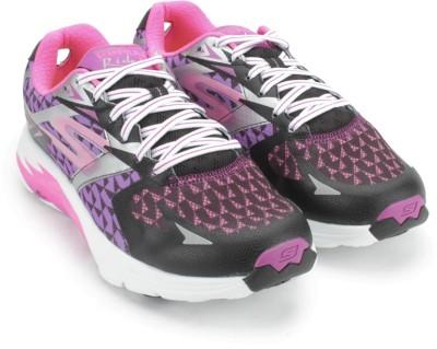 Skechers GO RUN RIDE 5 Running Shoes(Purple) at flipkart