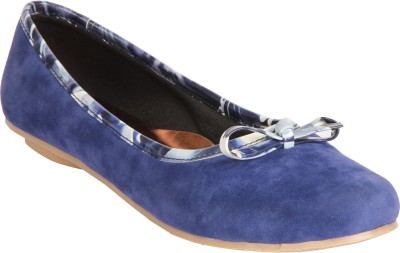 Indulgence Bow-Tiful Bellies For Women(Blue)
