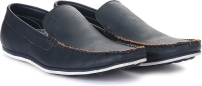Peter England PE Loafers For Men(Navy) at flipkart
