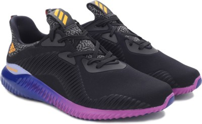 Adidas ALPHABOUNCE M Running Shoes(Black) at flipkart